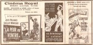 Gembloux Cinéma Royal Pub 07 décembre 1957(1).jpg